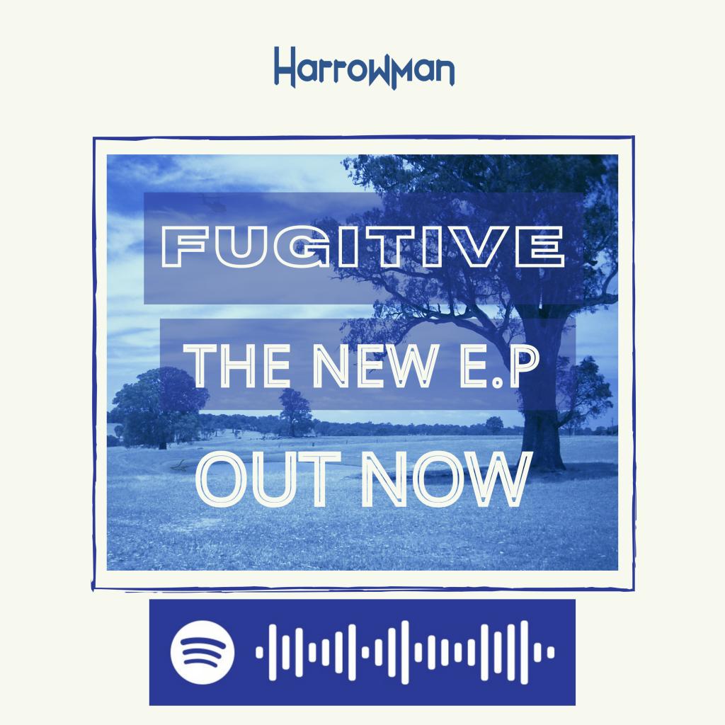 harrowman fugitive EP panel